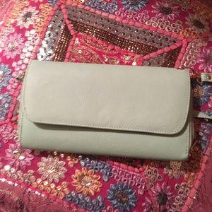 Bags - Cute Aqua Clutch